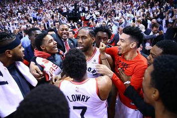 Kawhi Leonard's Game 7 Buzzer-Beater Leads To Prestigious Award