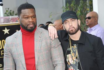 Eminem Endorses 50 Cent's Latest Endeavor