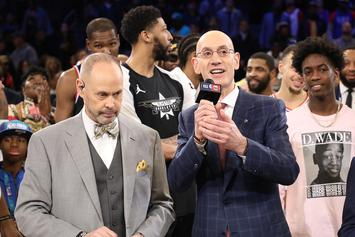 Adam Silver Discusses The NBA's Return With Players