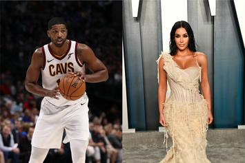 Tristan Thompson Keeps The Peace By Sending Kim Kardashian Mother's Day Gift