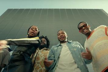 """Dreamville Drop Off Stacked """"Don't Hit Me Right Now"""" Video"""
