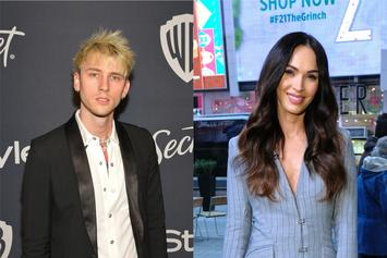 Machine Gun Kelly Shares BTS Footage Of Megan Fox In A Towel