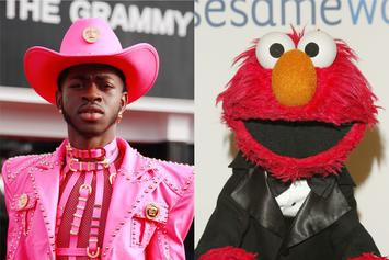 "Lil Nas X & Elmo Put New Spin On ""Elmo's Song"""