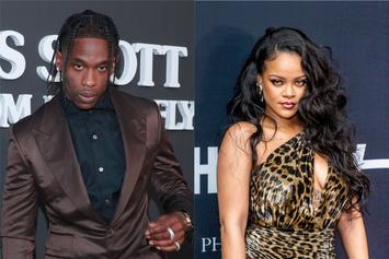 Travis Scott Was Reportedly Pissed When His Fling With Rihanna Was Made Public