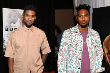 Usher & Trey Songz Join BLM Protests In L.A. On Bikes