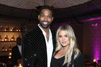 Khloe Kardashian & Tristan Thompson Get Cozy At Friend's Birthday Party