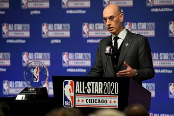 "Adam Silver On NBA Return: ""No Choice But To Learn To Live With This Virus"""