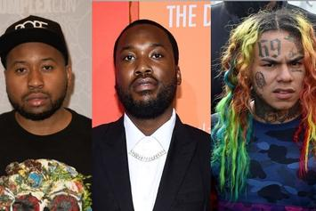 "6ix9ine & Akademiks Target Meek Mill: ""You're Raps Biggest Hypocrite"""