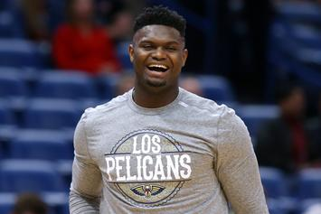 Zion Williamson Looks Extremely Jacked In New Photo, Fans React