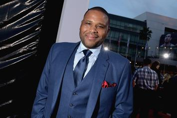 "Anthony Anderson Cracks ""Crazy Black President"" Joke About Kanye West"