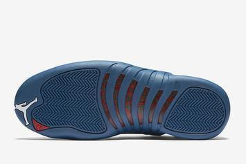 "Air Jordan 12 ""Stone Blue"" Drops Soon: New Details Revealed"