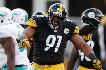 "Stephon Tuitt Of The Steelers Says He's ""Not Kneeling For The Flag"""