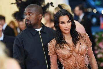 "Kim Kardashian Fears Kanye West Might Hit ""Rock Bottom"": Report"