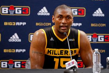 Metta World Peace Says He Wouldn't Kneel For The National Anthem