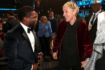 Kevin Hart Sends Ellen DeGeneres A Message Amid Misconduct Drama