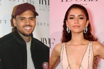 """Chris Brown Wants Zendaya To Release Their 2016 Music Video: """"ITS TOO FIRE"""""""