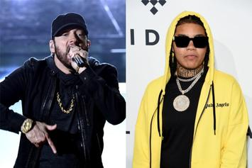 "Eminem Guests On Young M.A's ""Me Always Radio,"" Goes Wild Over Her Lyrics"