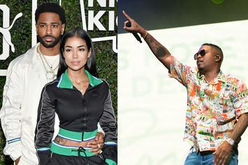 "Big Sean Spits Bars For Jhené Aiko On New Nas Collab ""Replace Me"""