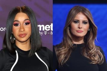"Cardi B Takes Aim At Melania Trump: ""Didn't She Used To Sell That Wap?"""