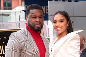 "50 Cent's Girlfriend Seeks His Comfort After Major ""Power"" Moment"