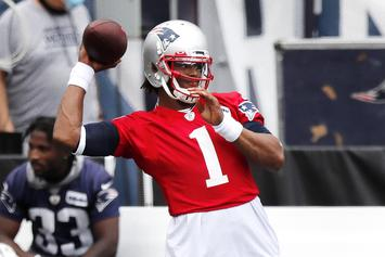 Cam Newton Explains Why He & Patriots Are A Perfect Match