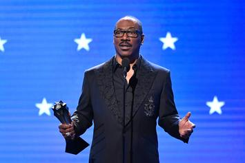"""Eddie Murphy Wins Emmy For Acclaimed """"Saturday Night Live"""" Appearance"""