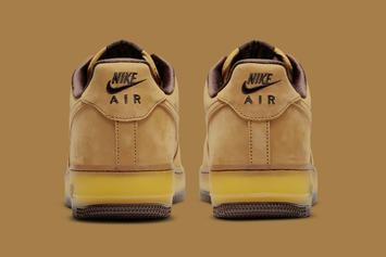 "Nike Air Force 1 Low ""Wheat Mocha"" Unveiled: Photos"