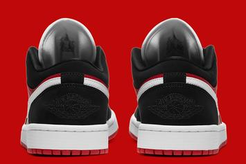 Bulls-Inspired Air Jordan 1 Low Drops Soon: Photos