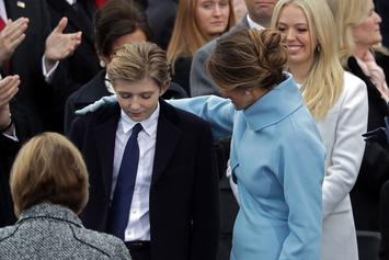 Melania Trump Confirms Son Barron Tested Positive For COVID-19