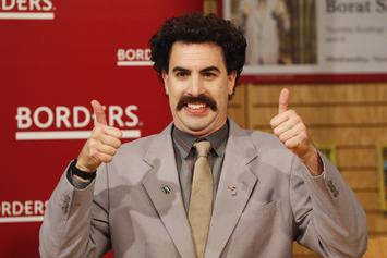 """""""Borat"""" Creators Sued By Estate Of Holocaust Survivor, Says They Tricked Her"""