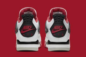 "Air Jordan 4 ""Fire Red"" Officially Revealed: Detailed Photos"