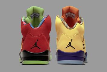 """Air Jordan 5 """"What The"""" Gets New Release Date"""