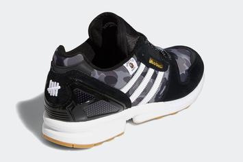 Bape x Undefeated x Adidas ZX 8000 Collab Unveiled: Photos