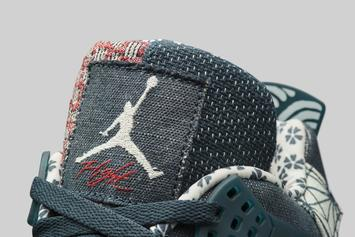 "Air Jordan 4 ""Sashiko"" Release Date Unveiled: Official Photos"