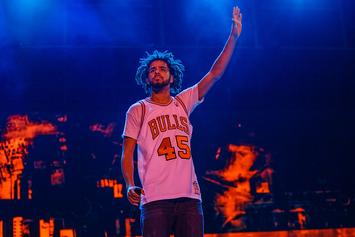 "J. Cole Humbly Thanks Drake, Kanye, & More On ""Friday Nights Lights"" Anniversary"