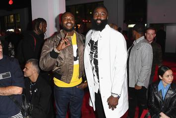 Meek Mill Reportedly Trying To Recruit James Harden To 76ers