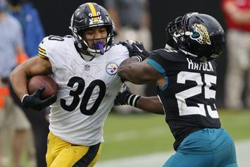 Steelers' James Conner & 2 Coaches Placed On Reserve/COVID-19 List