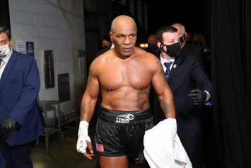 Mike Tyson Fan Tries To Fight Boxer After Roy Jones Jr. Bout