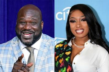 Shaq's Comment About Megan Thee Stallion Is Creeping People Out