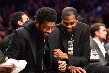 Kevin Durant & Kyrie Irving Debate How Often Irving Should Post Up