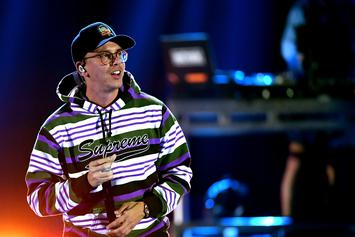 Logic Debuts Red Hair In Family Holiday Photo