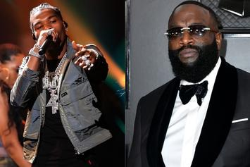 Lil Baby & Rick Ross Are Cooking Up In The Studio Together