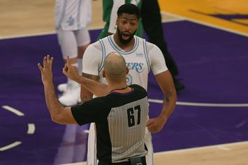 Anthony Davis Receives Injury Update Ahead Of T-Wolves Game