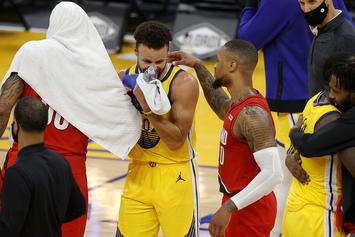 Damian Lillard Shows Respect To Steph Curry After Criticizing Him