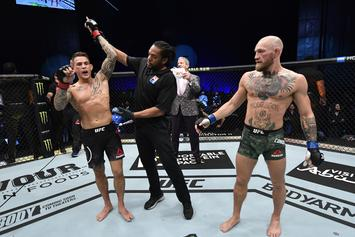 Conor McGregor Reacts To Shocking Loss To Dustin Poirier