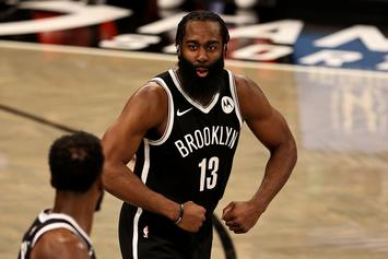 "James Harden Says Nets Are ""Catching A Rhythm"" After Team Ties Franchise Record For Points"