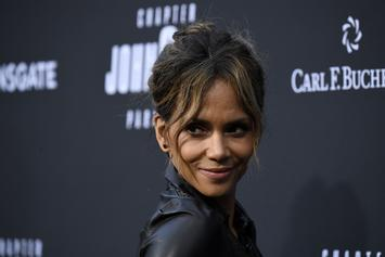 """Halle Berry Checks Person Who Says She """"Can't Keep A Man"""""""