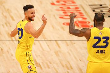LeBron James Speaks On Playing With Steph Curry For The First Time