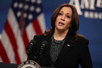 Man Detained Outside Of Kamala Harris's Vice Presidential Residence
