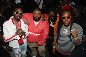 Migos & DJ Khaled Connect In The Studio